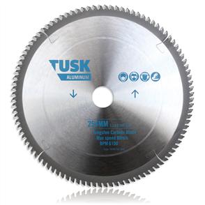 Tusk Aluminium Tungsten TACM 254 60T Carbide Blade 254 mm