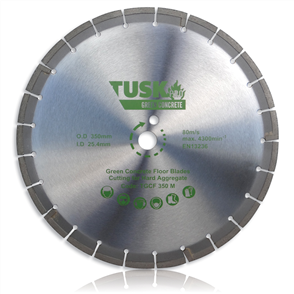 Tusk Green Concrete TGCF 350M Floor Saw Blade 350 mm