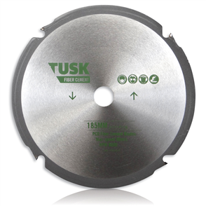Tusk PCD Diamond Fibre TPFC 185  Cement Blades 185 mm