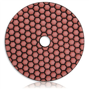 TPPH 1251500 Tusk Honeycomb Dry Polishing Pad 125 mm