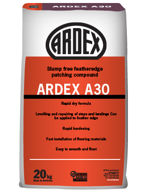 Ardex A30 Featheredge Patching Compound 20 kg