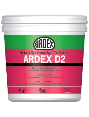 Ardex D2 Tile Adhesive 22kg