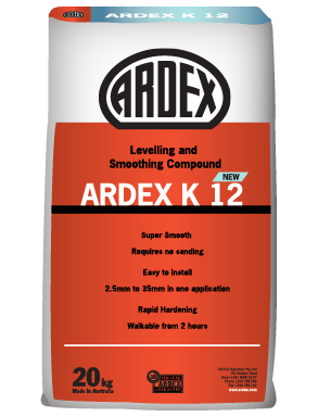 Ardex K12 Levelling and Smoothing Compound 20 kg