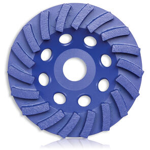 Tusk GST Segmented Turbo Cup Grinding Wheel