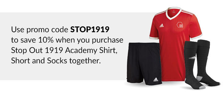 stop Out 1919 Academy football pack