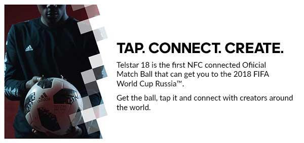 Telstar 18 - first NFC connected Offical Match Ball