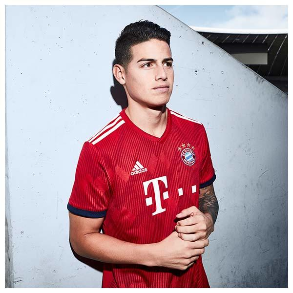 2018-19 Bayern Munich Home Jersey