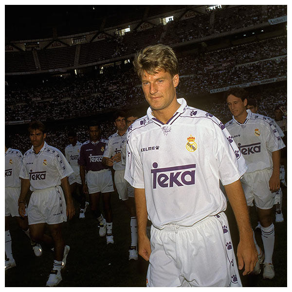 Kelme sponsored Real Madrid C.F. between 1994/1998