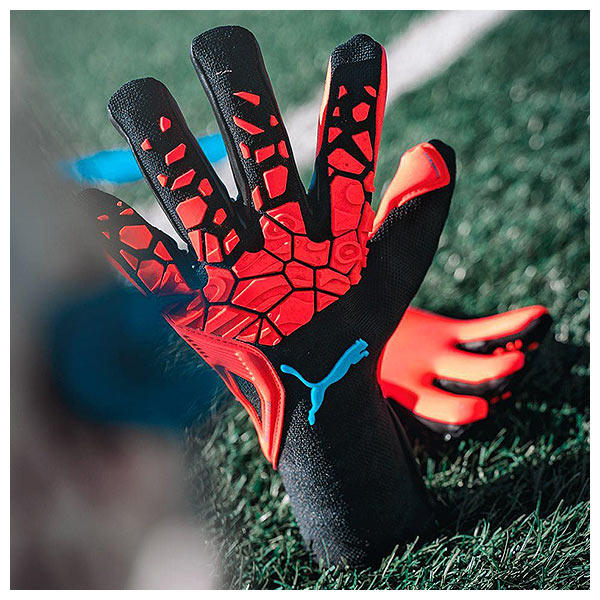 Puma's new generation of it's strapless goalkeeper gloves
