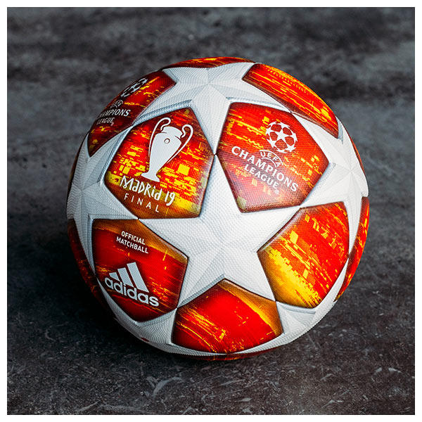 Designed to highlight the iconic stars of the UEFA Champions League
