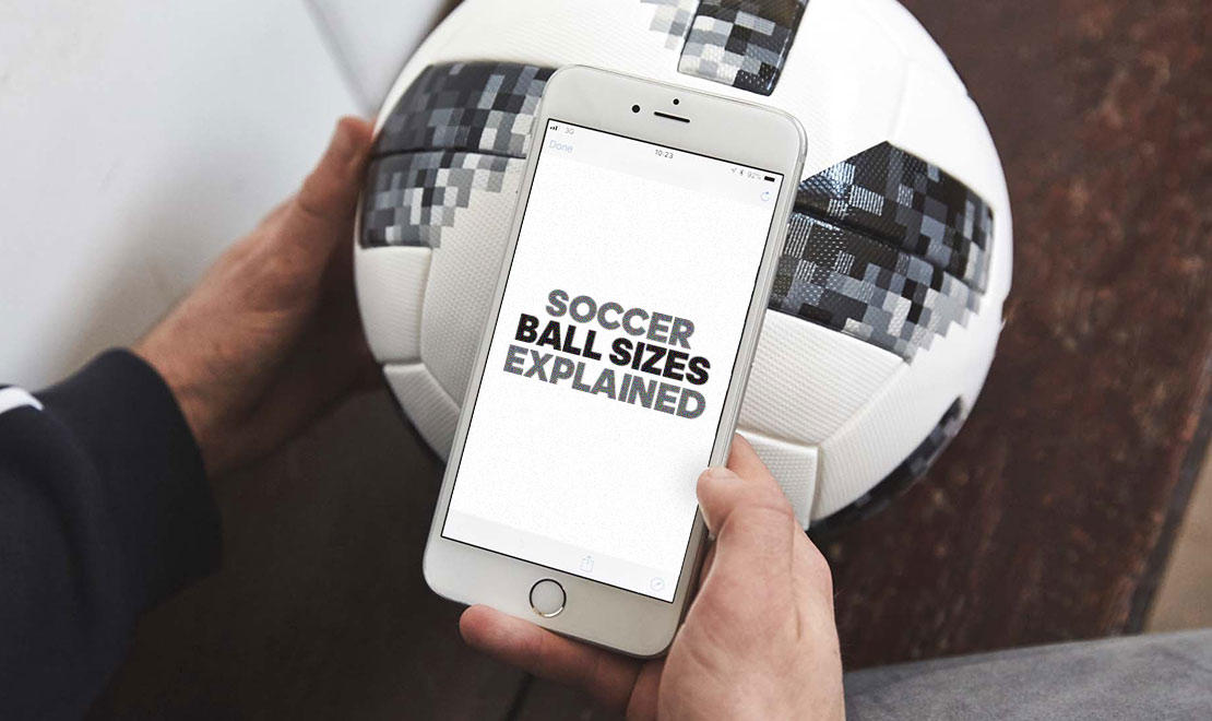 Soccer Ball Sizes Explained