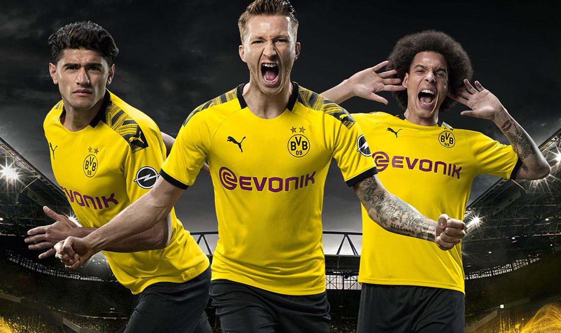 The 2019-20 Borussia Dortmund Home Kit