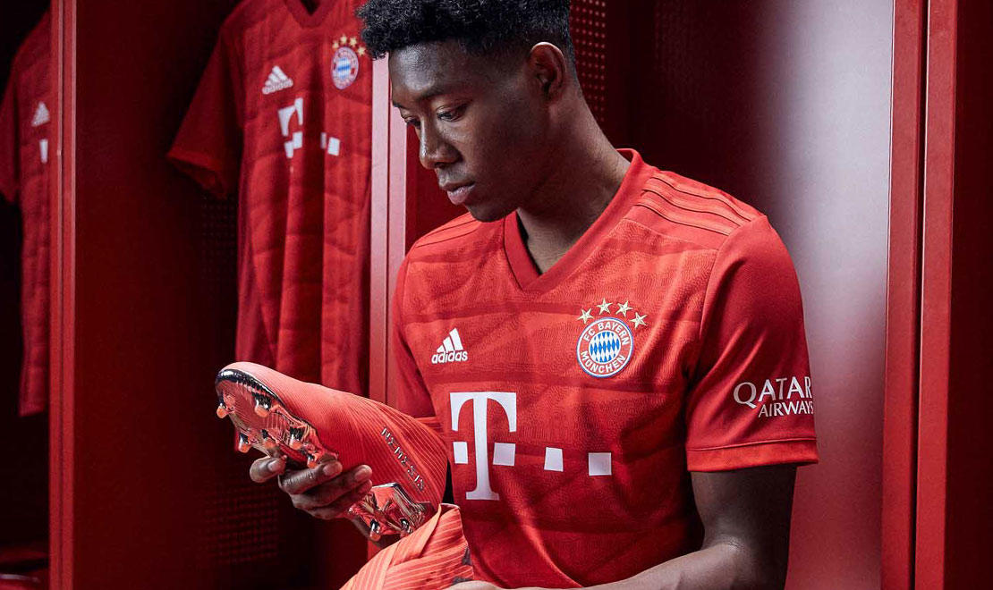 2019/20 Bayern Munich home kit