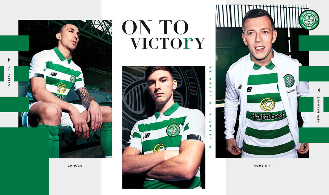 The 2019-20 Celtic FC Home Kit
