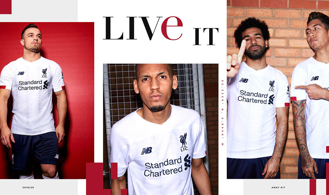 The 2019-20 Liverpool FC Away Kit