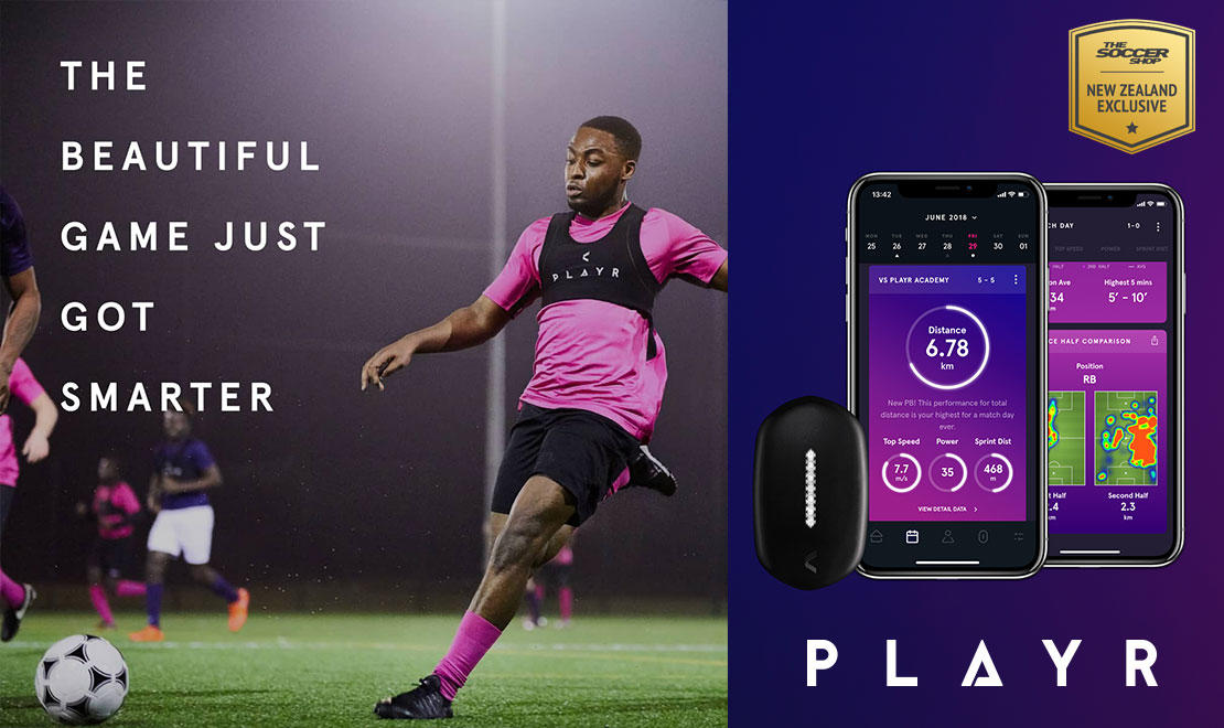 PLAYR GPS SOCCER TRACKING SYSTEM