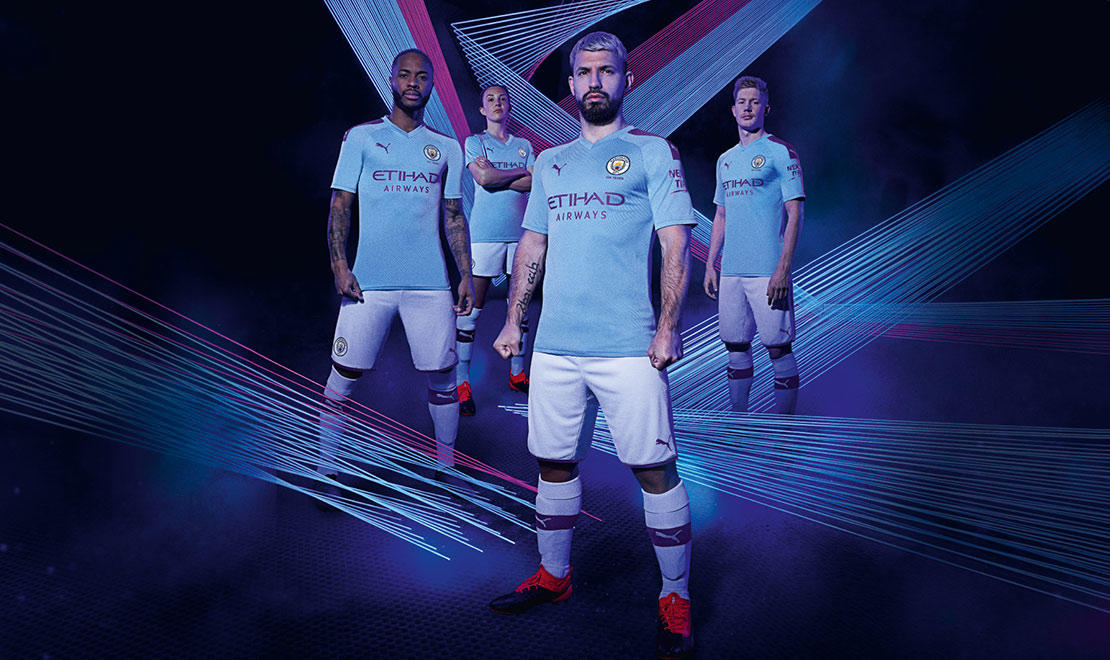 The 2019-20 Manchester City Home Kit