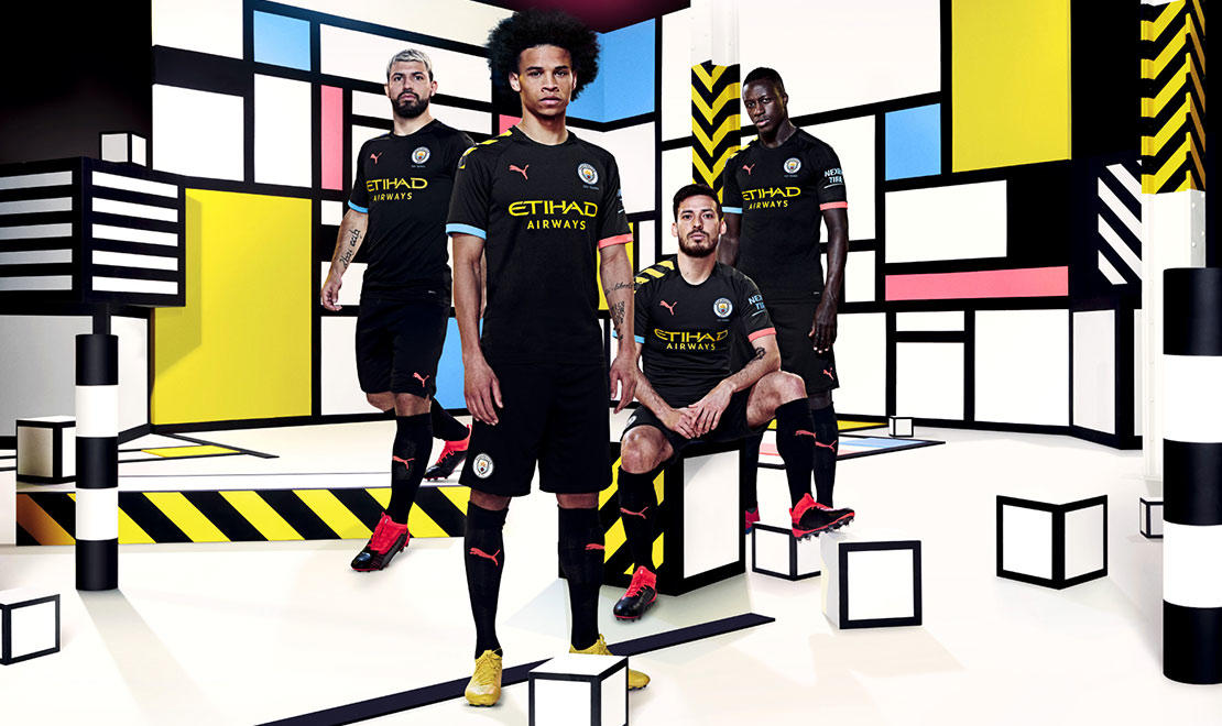 The 2019-20 Manchester City Away Kit