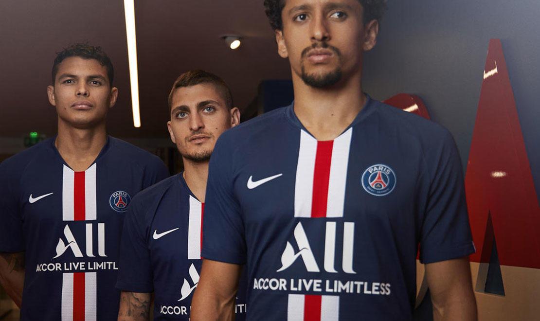 The 2019-20 Paris Saint-Germain Home Kit