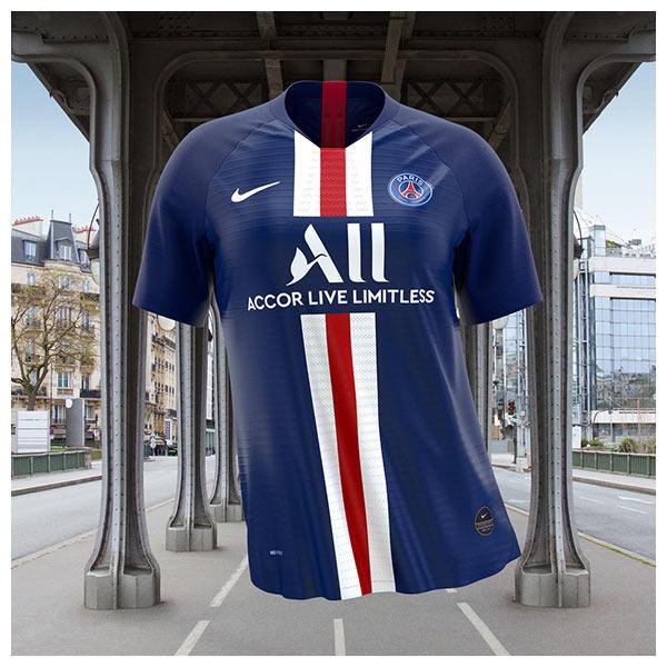 Paris Saint-Germain's (PSG) 2019-20 home kit