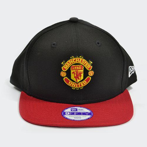 Manchester United New Era 9Fifty Youth Cap – Black  fd9573e9a50