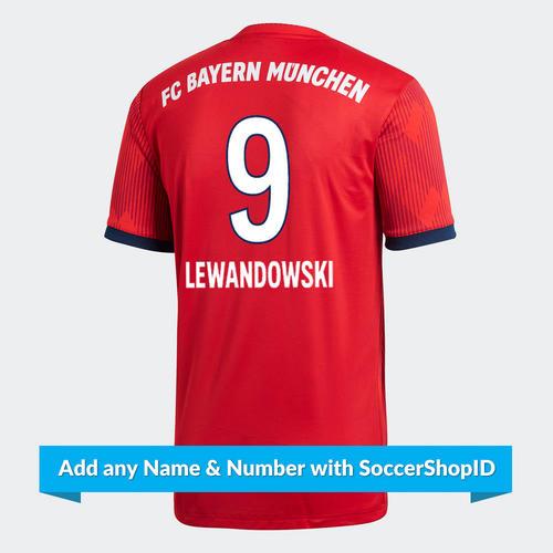 adidas 2018-19 Bayern Munich Home Shirt – PLAYER PRINTED  59dedba8c