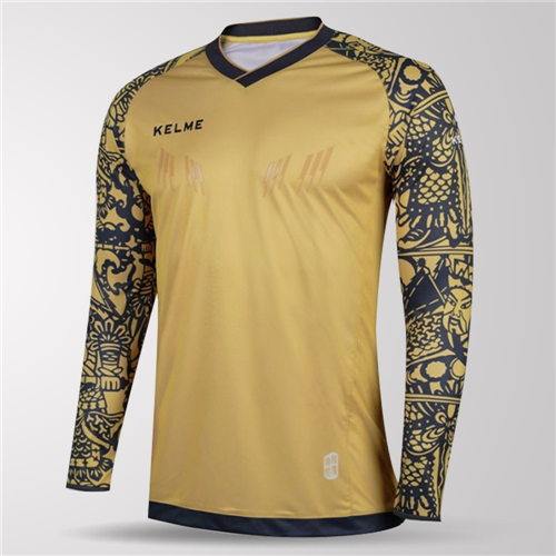 10c3e8af79d Kelme Guardameta Long Sleeve GK Jersey – Gold