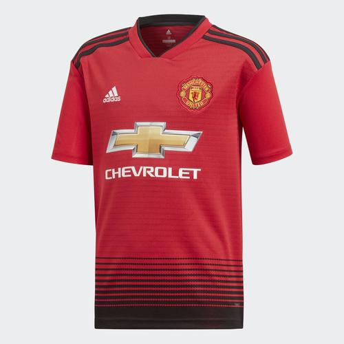 adidas Junior 2018-19 Manchester United Home Shirt  89bb97aad