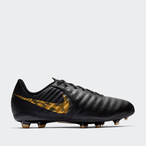 1b58aa25179f7 Nike Junior Tiempo Legend 7 Academy FG – Black Lux Pack