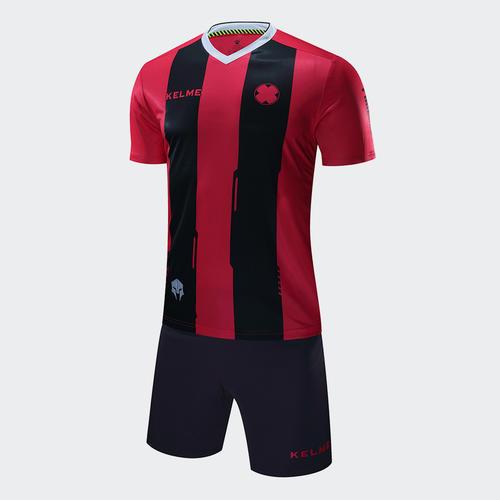 Kelme Banda Jersey   Short Set – Red Black  10d6201fb