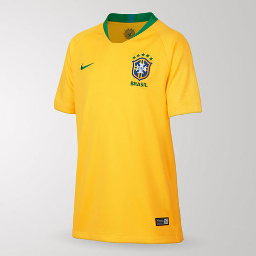 d812919f9 Nike Junior 2018 Brazil Home Shirt