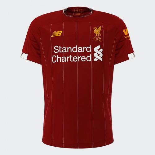 bf6c2f4e4c9 New Balance 2019-20 Liverpool Home Shirt