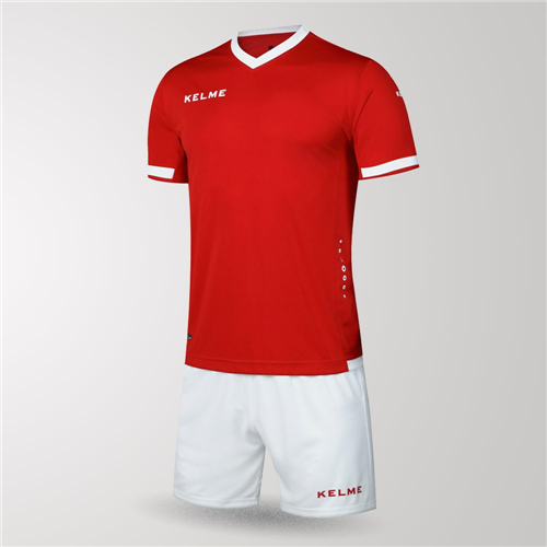 181eb24ce Kelme Defensa Jersey   Short Set – Red White