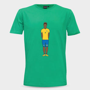 TSS Brazil Neymar Graphic Support Tee