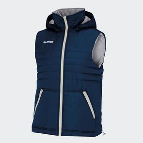 Erreà Hybrid Sleeveless Jacket – Navy