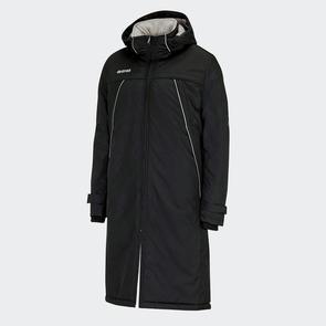 Erreà Iceland Long Coach Jacket – Black