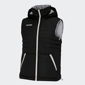 Erreà Hybrid Sleeveless Jacket – Black