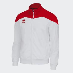 Erreà Garric Track Jacket – White/Red
