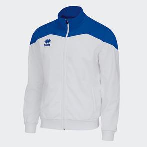 Erreà Garric Track Jacket – White/Blue