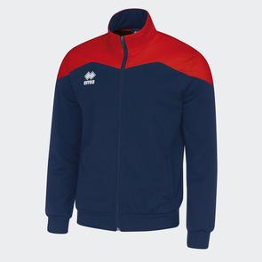 Erreà Garric Track Jacket – Navy/Red