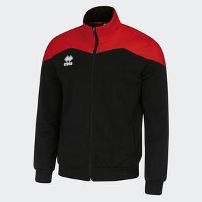 Erreà Garric Track Jacket – Black/Red