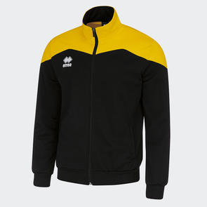 Erreà Garric Track Jacket – Black/Yellow