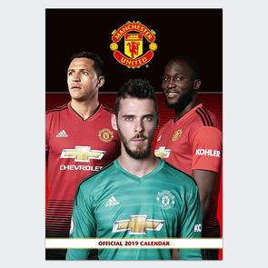 Manchester United 2019 A3 Calendar
