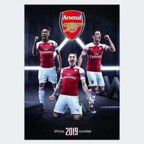 Arsenal 2019 A3 Calendar