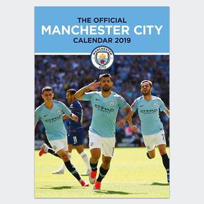 Manchester City 2019 A3 Calendar