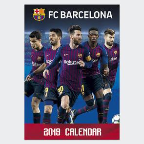 Barcelona 2019 A3 Calendar