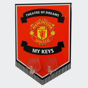 Manchester United Metal Key Hanging Sign