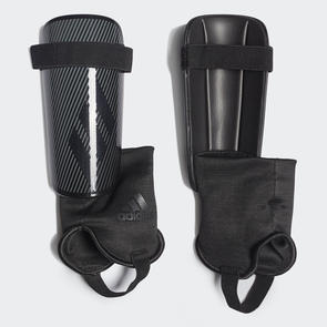 adidas X Club Shin Guards – Black/Grey
