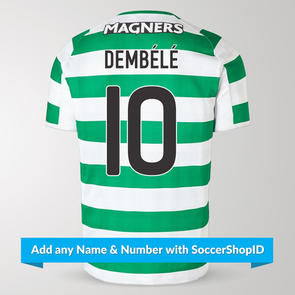 New Balance 2018-19 Celtic Home Shirt – PLAYER PRINTED