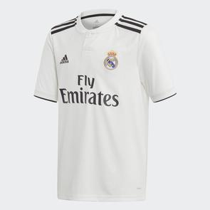 adidas Junior 2018-19 Real Madrid Home Jersey
